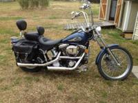 1998 Harley Davidson Softail Custom Cruiser Like new