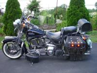 1998 Heritage Springer Softail in beautiful