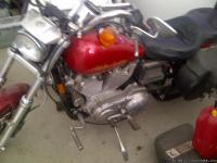 For sale is a 1998 harley. Bike runs great and drives