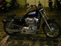 This just in a 1998 Harley-Davidson XL883 Sportster