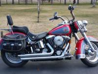 1998 Harley-Davison Heritage Softail, FLSTC Very well
