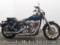 1998 Harley Super Glide FXD with 4,670 Miles. A nice