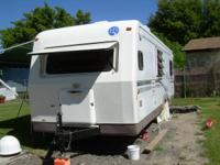 Trade this 30' travel trailer and/or tow vehicle(2000