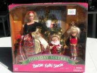 1998 Special Edition of Holiday Sisters Gift Set - NEW