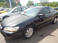 1998 Honda Accord EX Color is black Fully loaded Black