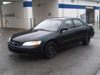 I am selling a 1998 Honda Accord 4 Door sedan. The car