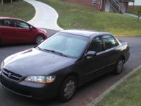 1998 Honda Accord 4 door. Only two owners. Low miles.