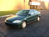 Options Included: N/AReliable Low Mileage Civic 5 Spd