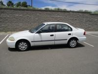 The 1998 Honda Civic! It comes equipped with all the