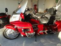 1998 Honda GL1500 Aspencade Goldwing. 4 stroke opposed