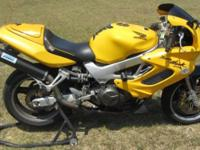 1998 Honda Superhawk VTR1000F. Great bike, very fast