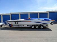 1998 Hustler Powerboats 38' Slingshot Twin 900hp - Max