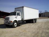1998 International 8100 tandem axle box truck heavy