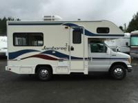 class'c full size motorhome that could fit in almost