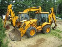 1998 JCB 214S JCB 214S Backhoe Loader GOOD CONDITION 4