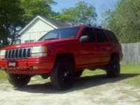 Up for sale is a 1998 Jeep Grand Cherokee. It has