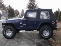 Need a lift This Jeep Wrangler has one!! Drives and