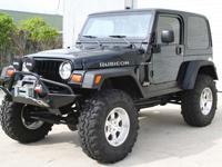 1998 Jeep Wrangler Rubicon Tribute 4X4 Custom,Black
