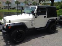 It's a jeep wrangler sport 2 owner vehicle that's been