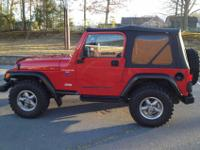 BEAUTIFUL WELL CARED FOR WRANGLER. +SNORKEL+BORLA