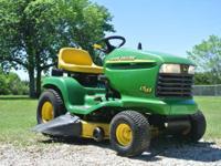 "1998 John Deere LT155 38"" John Deere LT155 Riding Lawn"