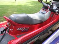 1998 Kawasaki 1100 3-seater unit in exc. condition with