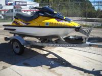 Kawasaki ZXi 1100 A one or two-person jet ski with a