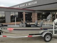 1998 LakeSport X-16 Aluminum Fishing Boat  Johnson 40hp