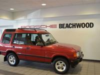 Options Included: AM/FMThis 1998 Land Rover Discovery