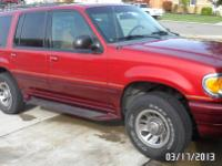 1998 Mercury Mountaineer V6 2WD clean title, 122K