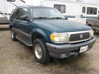 GREAT RUNNING OLDER SUV. $2400.00 WORK DONE ON FRONT