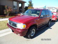 1998 Mercury Mountaineer SUV Original owner, clean
