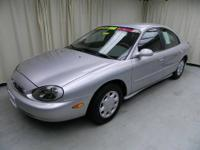 THIS MERCURY SABLE IS A LOCAL TRADE WITH LOW MILES,