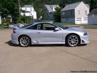 1998 Mitsubishi Eclipse GS, 5 spd, air, tilt, cruise,
