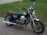 Beautiful 1998 Moto Guzzi V11 1100 Bobber built by