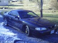 For sale is a 1998 ford mustang gt. It excels disorder