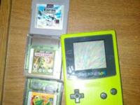 I have a 1998 Gameboy Color in it's original Kiwi