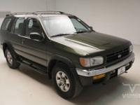 This 1998 Nissan Pathfinder XE RWD is offered by Vernon