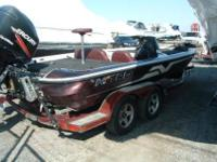 Here is a nice Bass Boat ,2004 with a new engine. A