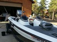 1998 NITRO 18 1/2 ft Bass Boat New carpet Reapoltered