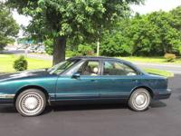 ONE OWNER- 1998 Oldsmobile Regency 4dr., dark green