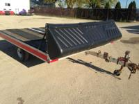 "1998 Polaris Trailers 101"" X 10' TWO PLACE ALUMINUM"