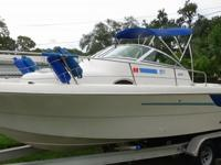 - Stock #079490 - The 241 is a versatile vessel,