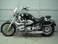 1998 BMW R1200C, black with 32492 miles. This bike is