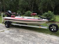 1998 RANGER R80 SPORT BASS BOAT!! I WILL SHIP TO