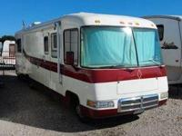 1998 Rexhall Rexair. This Class A Recreational Vehicle