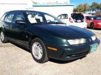 1998 Saturn SW2 Sedan Wagon for sale! 4 cylinder