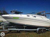 1998 Sea Ray 240 Sundancer For Sale! Sea Ray has