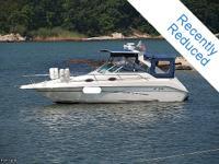 The flexible Sea Ray 250 Sundancer combines high