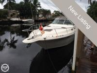1998 Sea Ray 330 Sundancer An updated version of Sea